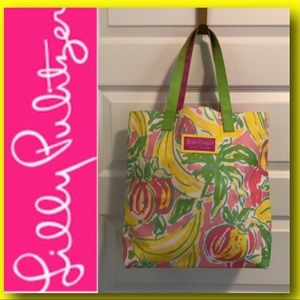 LILLY PULITZER TOTE 🌸🍃